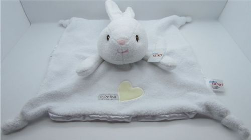 Baby Gund Rabbit Snuggle Comfort Blankie - Suitable From Birth - Satineesnug NEW
